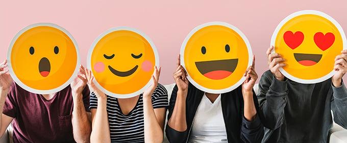 happy emojis