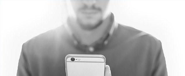 usar el smartphone