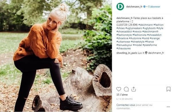 exemple utilisation hashtag sur instagram