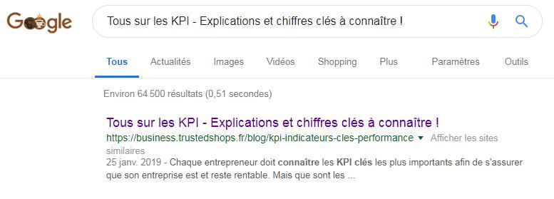 kpi trusted shops google