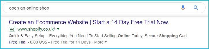 shopify ad