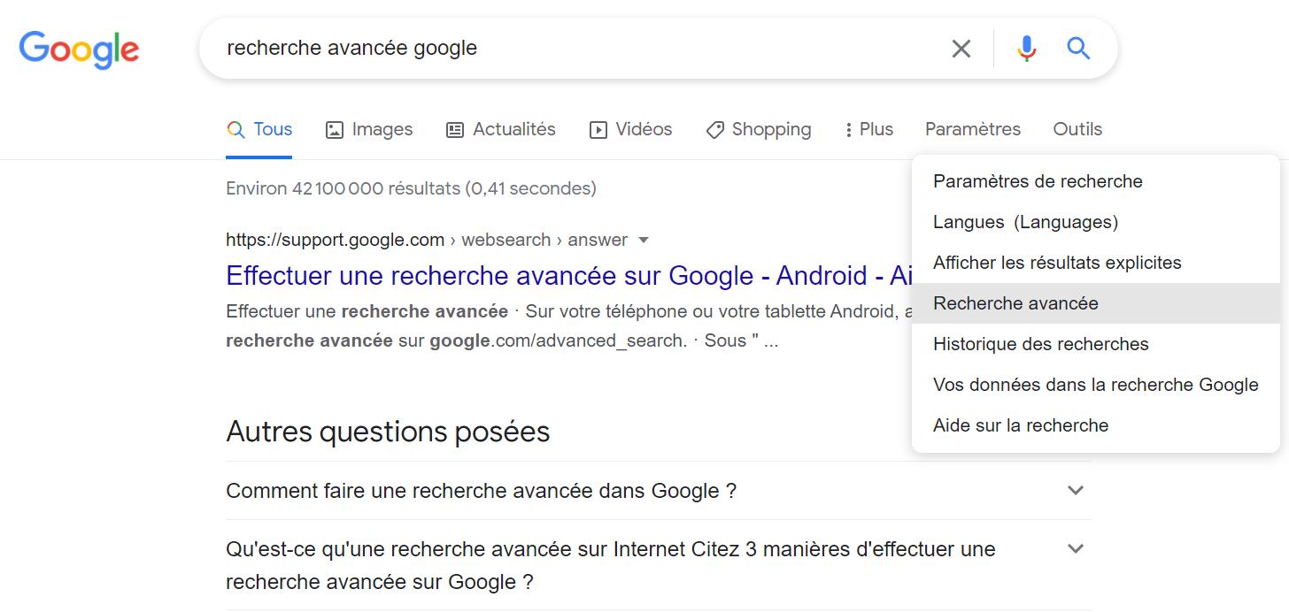 recherche avancée_FR