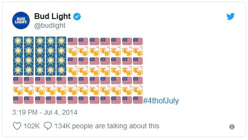 emoji art Bud Light